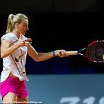 STUTTGART, GERMANY - APRIL 16 : Petra Kvitova in action at the 2016 Porsche Tennis Grand Prix