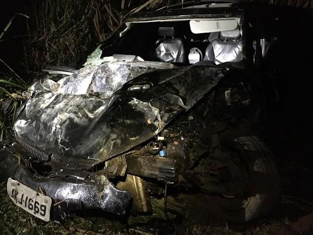 Dois adolescentes morrem e dois ficam feridos em acidente na BR-116