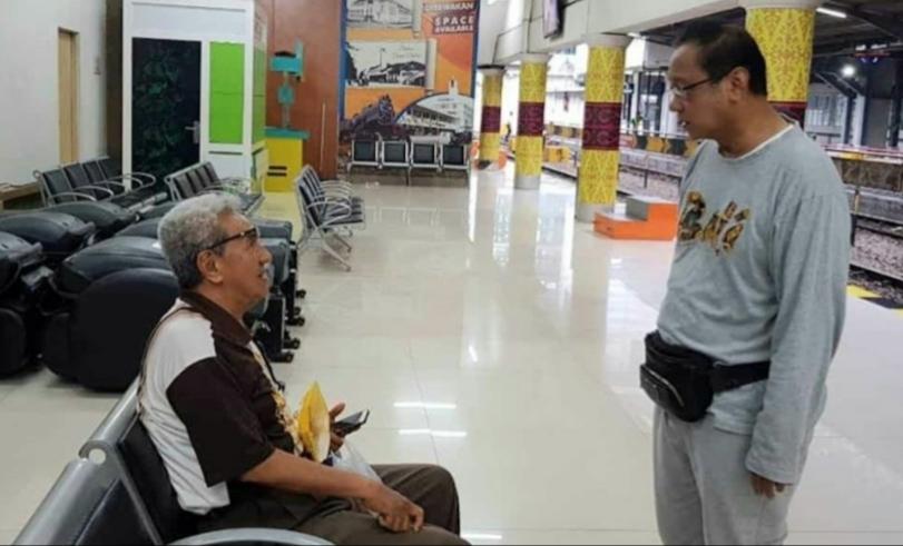 Edi Sukmoro Dirut KAI Gelar Sidak di Stasiun Medan