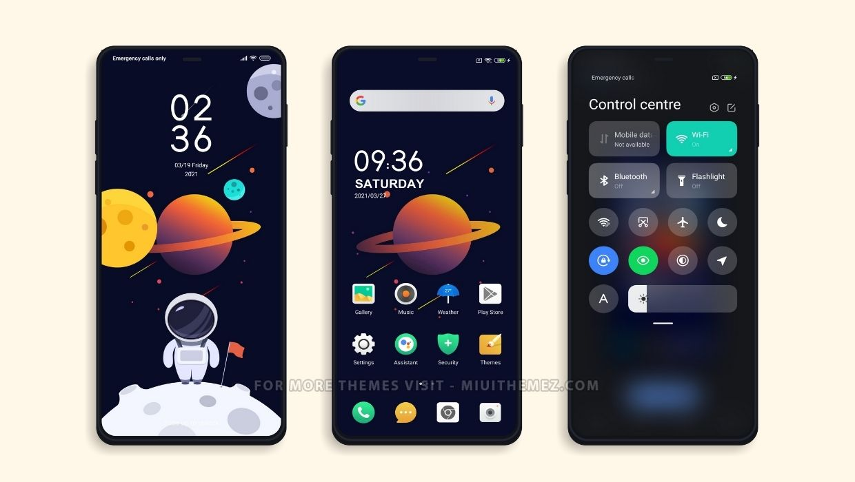 New Space MIUI Theme