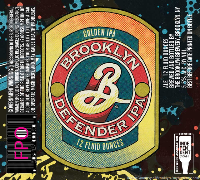 Brooklyn - Defender Golden IPA - mybeerbuzz com - Bringing