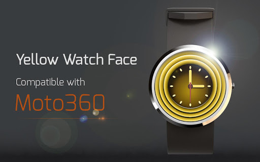 Yellow Watch Face