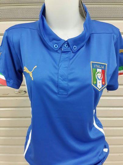 Jual Jersey Wanita Italia Home Piala Dunia 2014