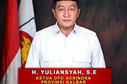 DPD Partai Gerindra, H. Yuliansyah, SE Mengungkapkan Kesiapan Menghadapi Pemilu 2024.