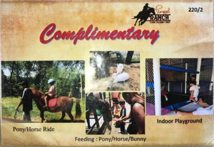 Annaxiu Punggol Ranch - activities voucher