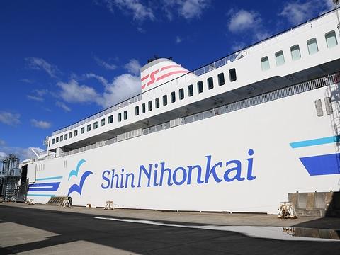 新日本海フェリー「らいらっく」 サイドロゴ
