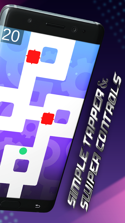 Follow The Path - ZigZagTap Hold Swipe Line Quest- screenshot