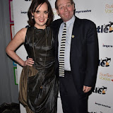 OIC - ENTSIMAGES.COM - Deborah-Frances White and John Lloyd at the  Chortle Comedy Awards in London 22nd March 2016 Photo Mobis Photos/OIC 0203 174 1069