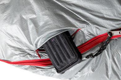 NEMO Kayu 15 800fill Down Regular Mens Sleeping Bag -Titan/Smoke alternate image 2