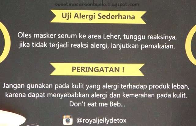 Royal Jelly Detox