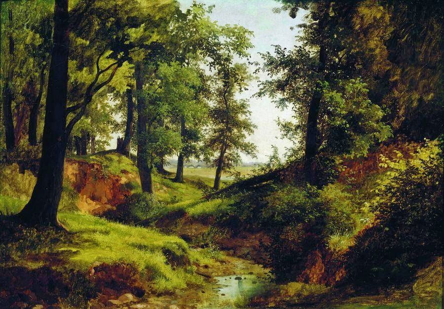 Lev Kamenev - Creek. 1884
