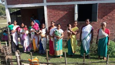 Support visit to Kerkhabari Pt II, Bongaigaon