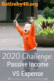 2020 Challenge: Passive Income VS Expense thumbnail