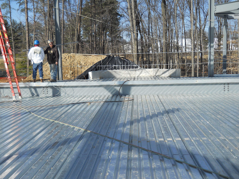Steel structure for floor