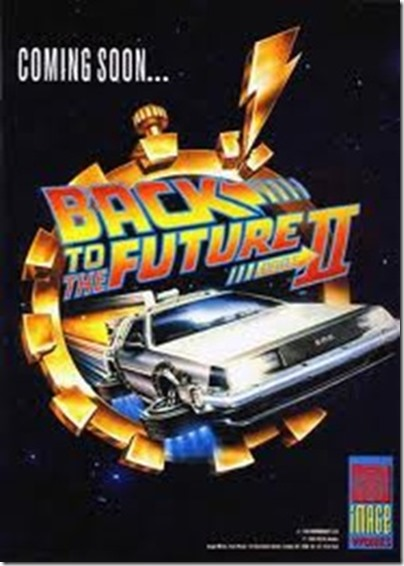 Back to the Future (Amiga Cover)