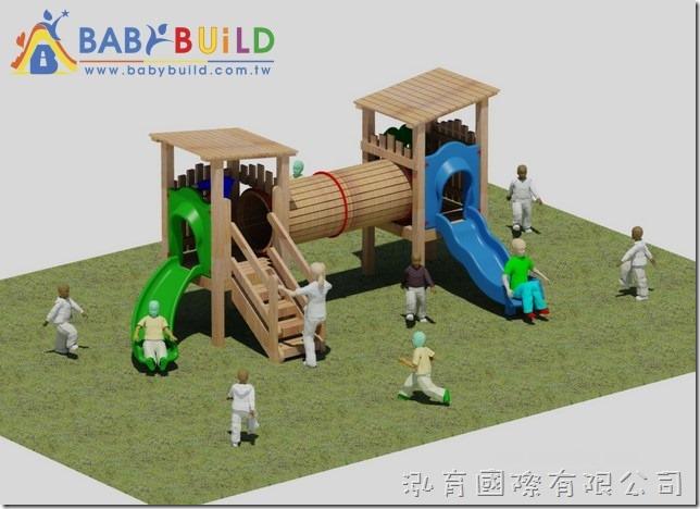 BabyBuild 木頭遊具