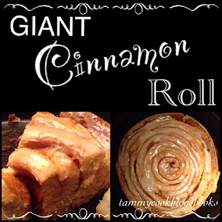 Giant Cinnamon Roll RecipeReview #TasteOfHomeTuesday