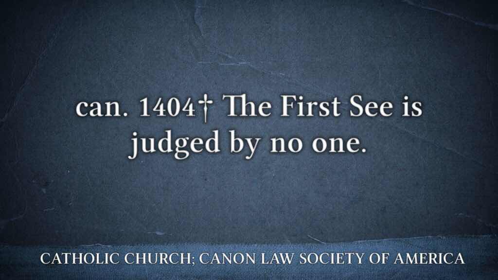 Canon Law 1404