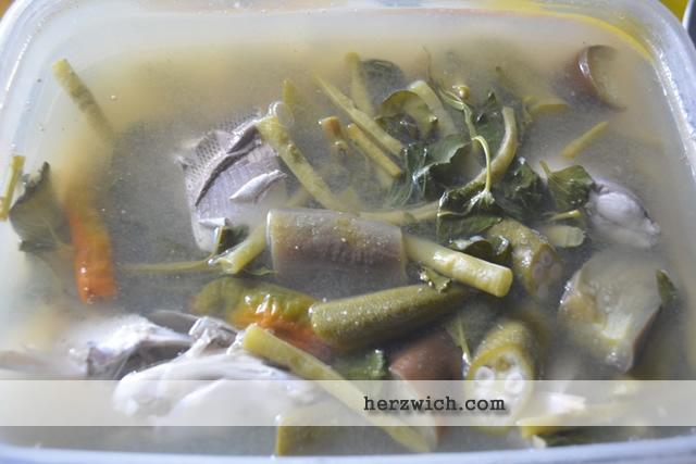 Milk Fish Cooked in Tamarind
