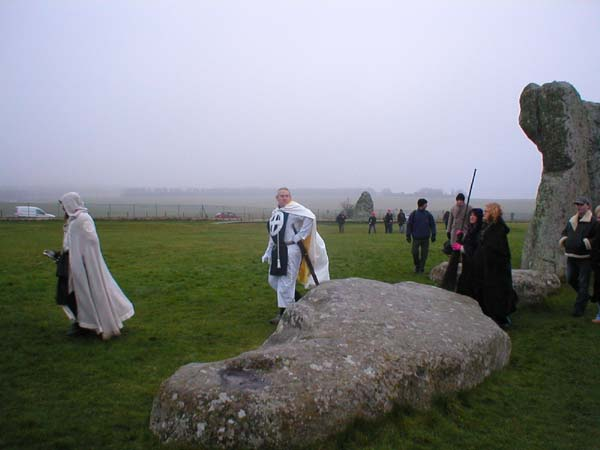 Winter Solstice Stonehenge Druids, Celtic And Druids