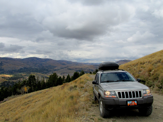 Jeep on Trail Mountain