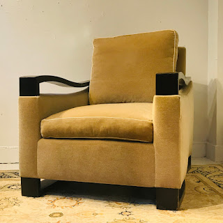 Mohair Donghia Woodbridge Style Club Chair #2