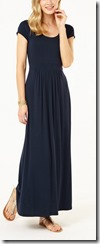 Phase Eight navy jersey maxi dress
