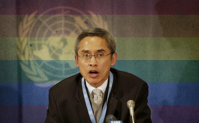 ONU LGBT delegate