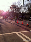 Second place, full marathoner. I believe this is the order that held through the end of the race.