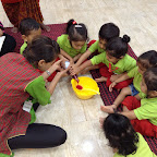 Cooking experience –Roohafza Making by Playgroup Section ( 2016-17), at Witty World, Bangur Nagar