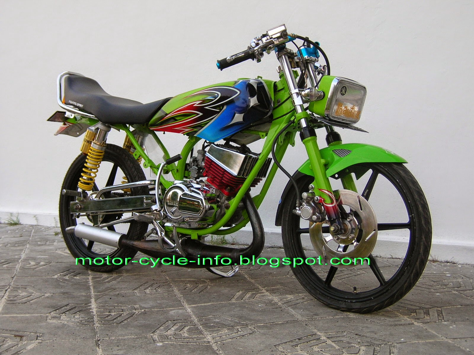 Drag Modifikasi Revo 2008