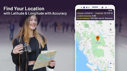 world maps, street view: my location coordinates screenshot 1