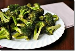 Grilled broccoli