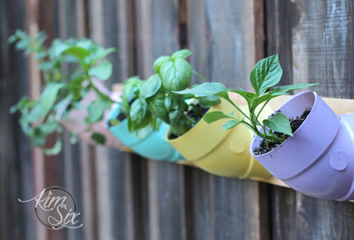 Growing Garden In PVC Pipe Vertical Planters