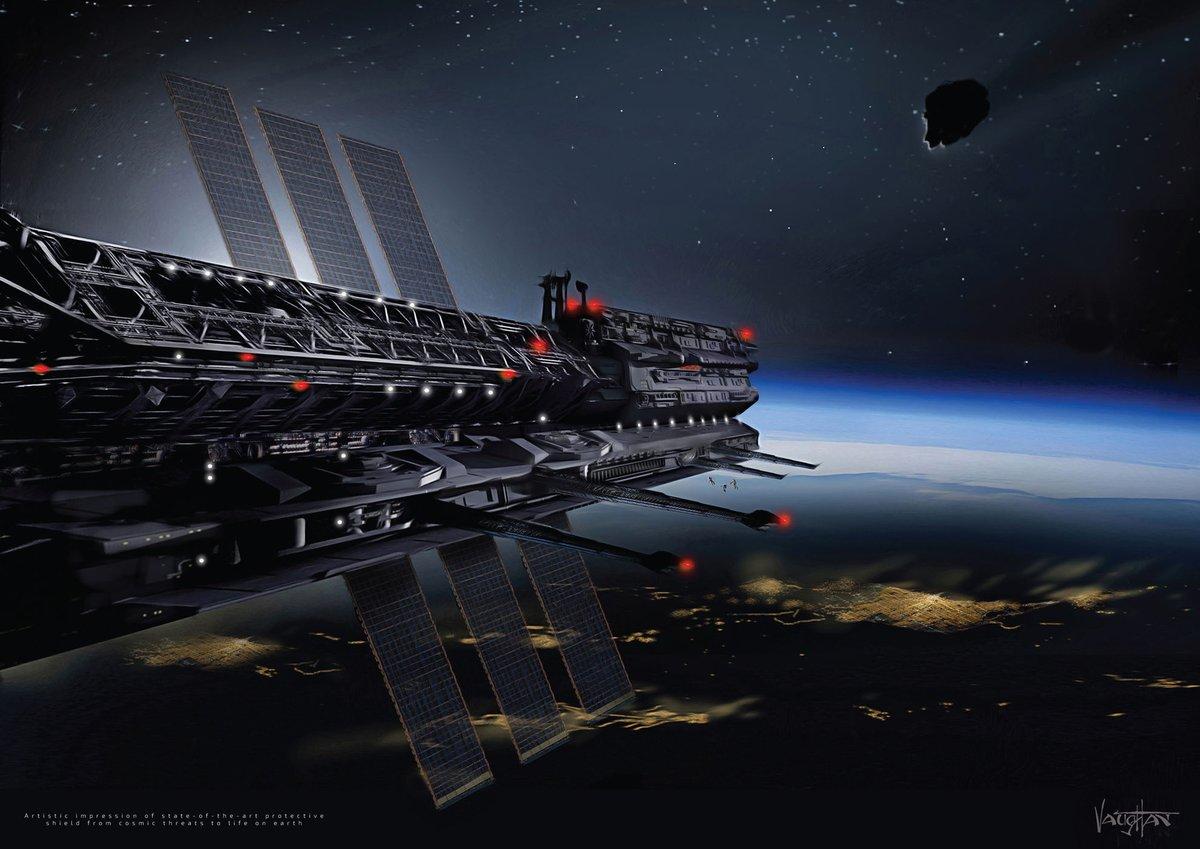 Quốc gia ngoài không gian không hẳn là nơi an toàn để bảo vệ nhân loại