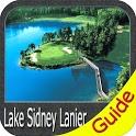 Lake Lanier GPS Offline Fishing Charts Navigator icon