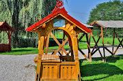 Faragott elárusító pavilon a Petörke Portéka vásáron Bárdudvarnokon