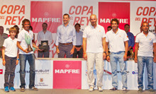 J/80 Copa del Rey Audi Mapfre winners- Rocha on Turismo Algarve