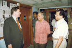with Lalji Singh and French Ambassador, Blanche Maison 1994.jpg