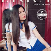 LiGui 2015.10.11 网络丽人 Model 佳怡 [35P] cover.jpg