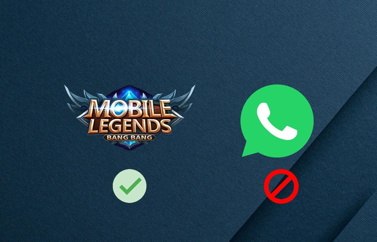 Cara menolak panggilan WA saat bermain game