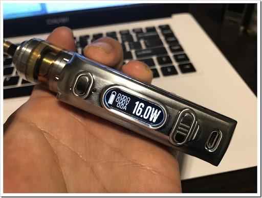 IMG 5913 thumb - 【DNA搭載モデル】Hcigar VT75 Nanoレビュー!小さくて可愛いお手軽ハイエンド機!立ち上がりの速さはさすがなので1台は持っておきたいMODのひとつ?