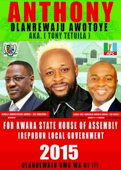 News: Not a joke - Tony Tetuila to Contest for Kwara House of Assembly