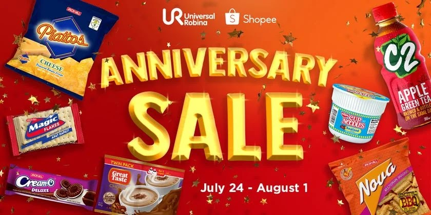 URC official Shopee store items on sale