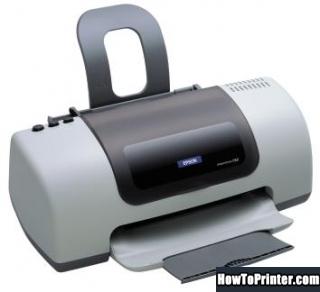 Reset Epson C67 printer with Epson reset software