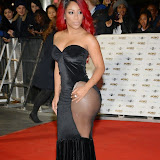 WWW.ENTSIMAGES.COM -   K.Michelle  arriving at        MOBO Awards 2014 at SSE Arena Wembley October 22nd 2014Annual awards show recognising the best in urban music which is supported by HTC.                                                Photo Mobis Photos/OIC 0203 174 1069