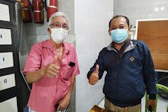 Lurah Gading Erfan di RW.3 Lebak Jaya Giat Vaksinasi Sinovac Dosis 2