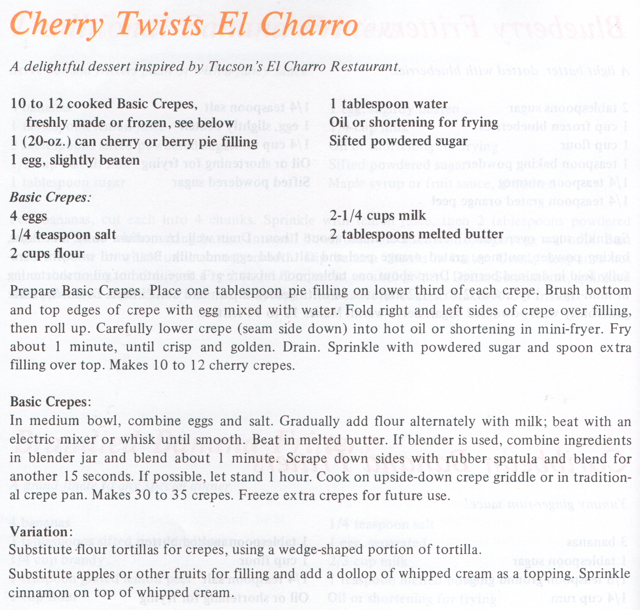 Cherry Twists El Charro