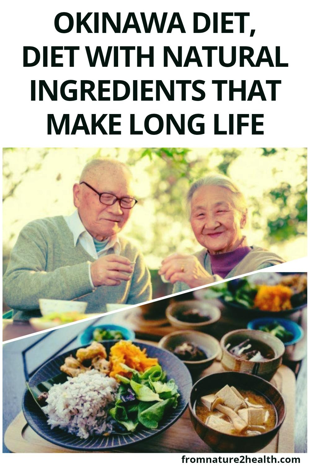 Okinawa Diet: Diet With Natural Ingredients That Make Long Life