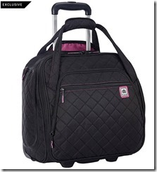 Delsey Underseat Rolling Tote with Smart Sleeve